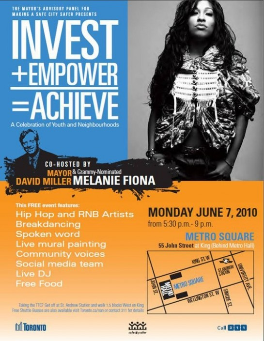 Melanie Fiona at Metro Hall